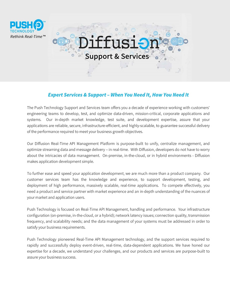 Diffusion Support